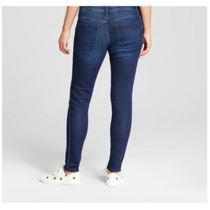 Ingrid & Isabel Jeans - Maternity Inset Panel Skinny Jeans   #67-12